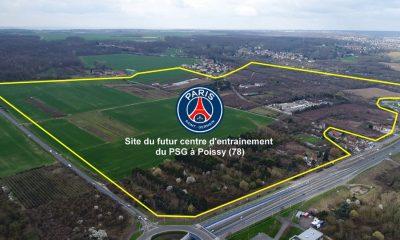 Le maire de la ville de Poissy a signé le protocole d'accord pour le centre d'entraînemen du PSG