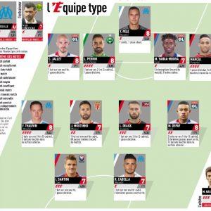 Ligue 1 - Aucun Parisien dans le onze-type de la 29e journée choisi par L'Equipe