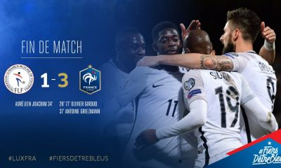 Luxembourg/France (1-3) - Les notes des Bleus : Matuidi sur courant alternatif