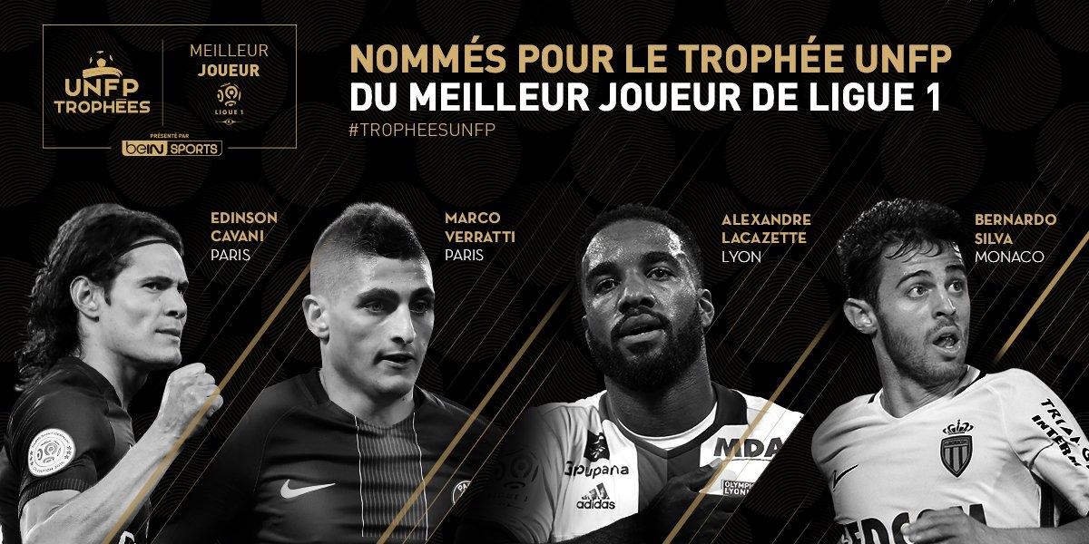 Ligue 1 - 2 joueurs du PSG parmi les 4 finalistes pour le titre meilleur joueur de la saison.jpg