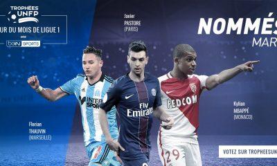 Ligue 1 - Javier Pastore parmi les 3 finalistes pour le titre de meilleur joueur du mois de mars