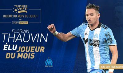 Ligue 1 - Thauvin élu meilleur joueur du mois de mars devant Pastore et Mbappé