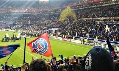 ASM/PSG Vu depuis le Parc OL: grosse ambiance pour le titre parisien