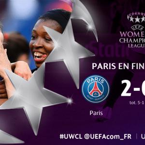 Féminines - Le PSG s'impose contre le FC Barcelone et se qualifie en finale de Ligue des Champions