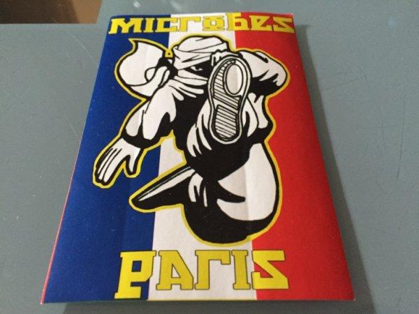Les Microbes Paris annoncent aussi leur départ du Collectif Ultras Paris