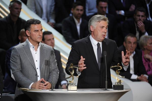 Ancelotti Mes meilleures salutations et toutes mes félicitations à Christophe Galtier