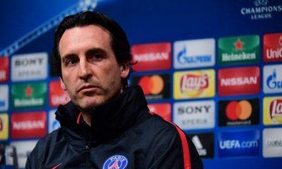 """Angers/PSG - Emery """"quelques douleurs, l'entraînement va permettre de définir qui est à 100%"""""""