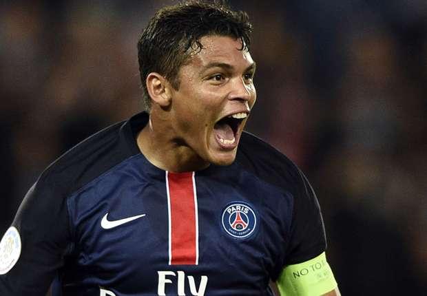 AngersPSG - Thiago Silva de retour à l'entraînement collectif parisien