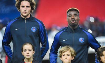 """Aurier """"Rabiot, je le vois bien futur capitaine du PSG. Il le mérite et il vient de loin"""""""