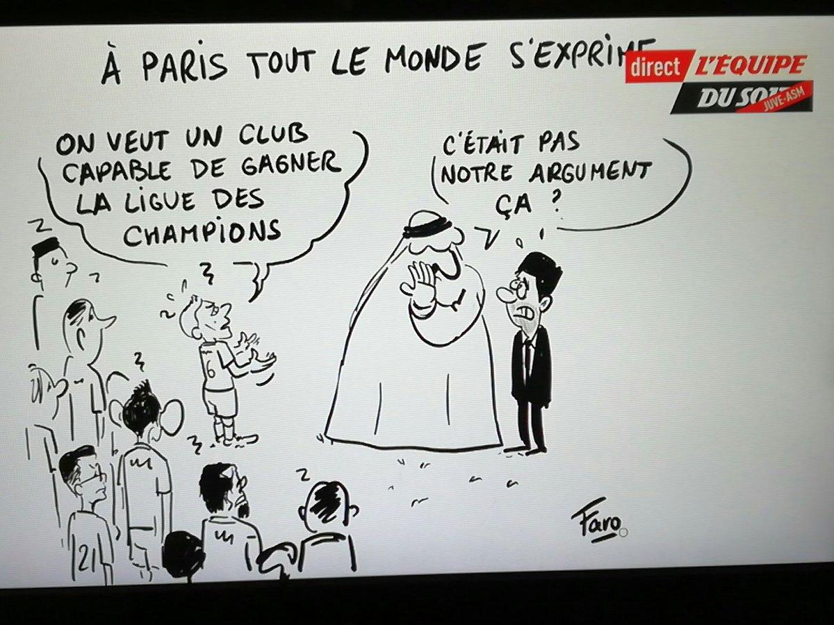 L Equipe Se Moque Du Psg Avec Un Dessin A Paris Tout Le