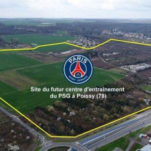 La ville de Poissy annonce la vente de 4 terrains au PSG pour 3,5 millions d'euros