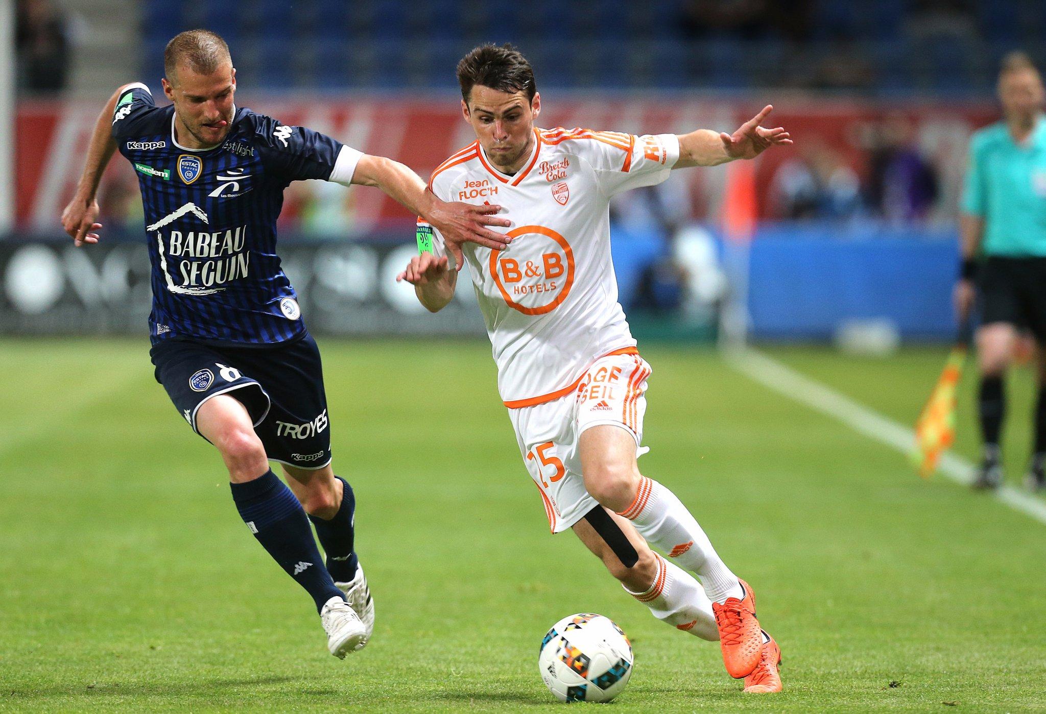 Ligue 1 - Troyes obtient sa montée aux dépens du FC Lorient, qui descend après 11 ans d'élite