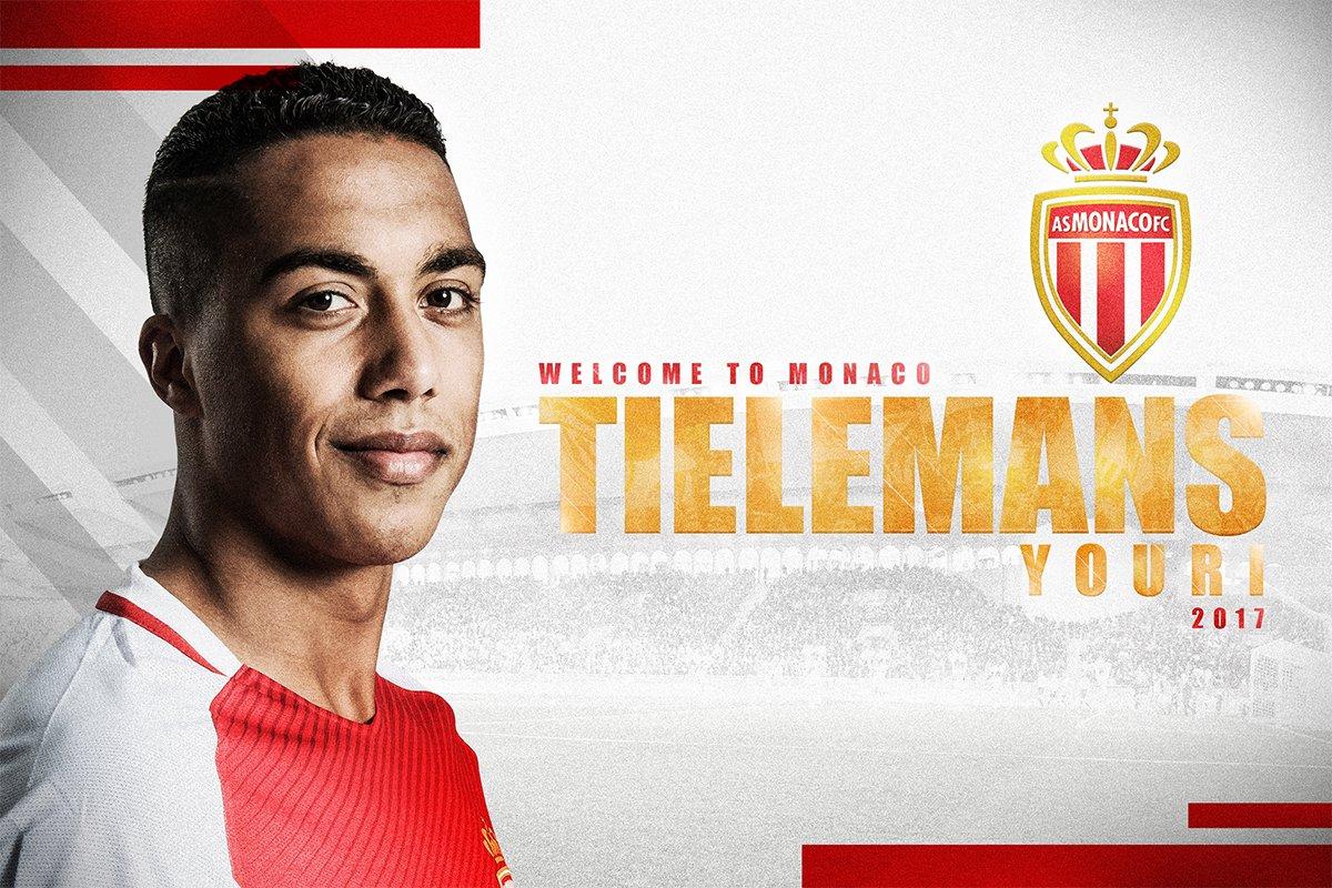 Mercato - Annoncé parmi les cibles du PSG, Youri Tielemans signe à l'AS Monaco