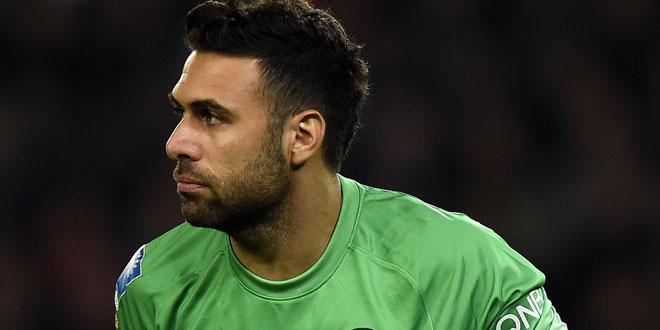 Salvatore Sirigu élu pire gardien de la saison en Liga par AS