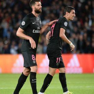 Thiago Motta et Di Maria sont suspendus pour 2 matchs ferme, plus 1 avec sursis pour l'Argentin