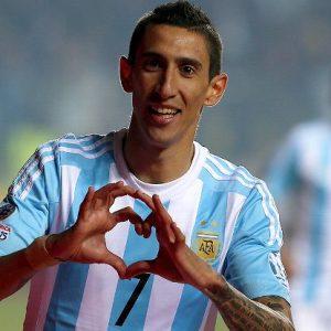 Angel Di Maria convoqué par l'Argentine, pas Javier Pastore