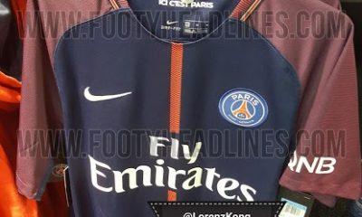 Le maillot du PSG à domicile pour la saison 2017-2018 se confirme