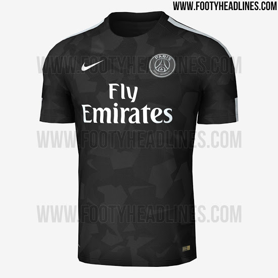 des fuites sur le maillot third du psg pour la saison prochaine. Black Bedroom Furniture Sets. Home Design Ideas