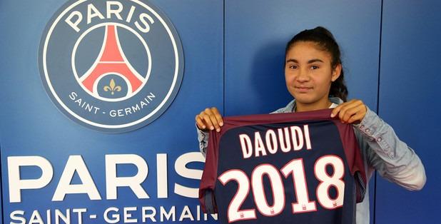 Féminines - Sana Daoudi prolonge au PSG jusqu'en 2018