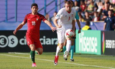 Gonçalo Guedes buteur et vainqueur lors de son entrée à l'Euro U21