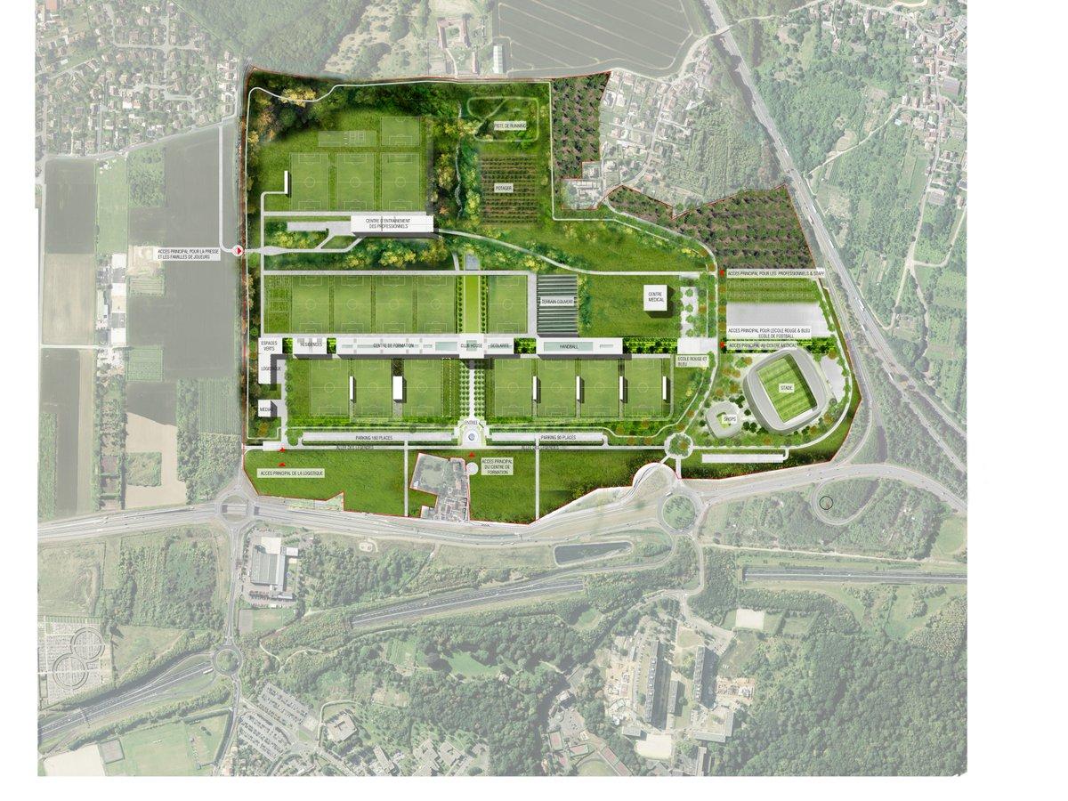 Le Parisien détaille le nouveau centre d'entraînement du PSG, finalement prévu pour 2020.jpg