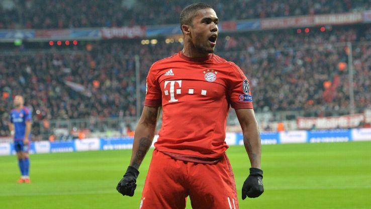 Mercato - Douglas Costa sur le départ du Bayern Munich, le PSG serait intéressé
