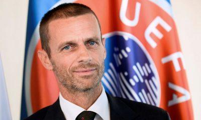 Le président de l'UEFA évoque un salary cap pour empêcher des grandes inégalités