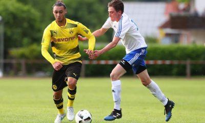 Azzedine Toufiqui a joué un match test avec le Borussia Dortmund