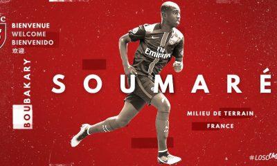 Boubakary Soumaré quitte le PSG pour rejoindre le LOSC, c'est officiel !
