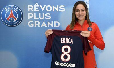 Erika, en fin de blessure, revient au PSG avec un contrat d'un an !