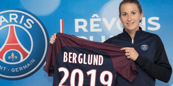 """Féminines - Emma Berglund signe au PSG """"une grande fierté. C'est un cap important"""""""
