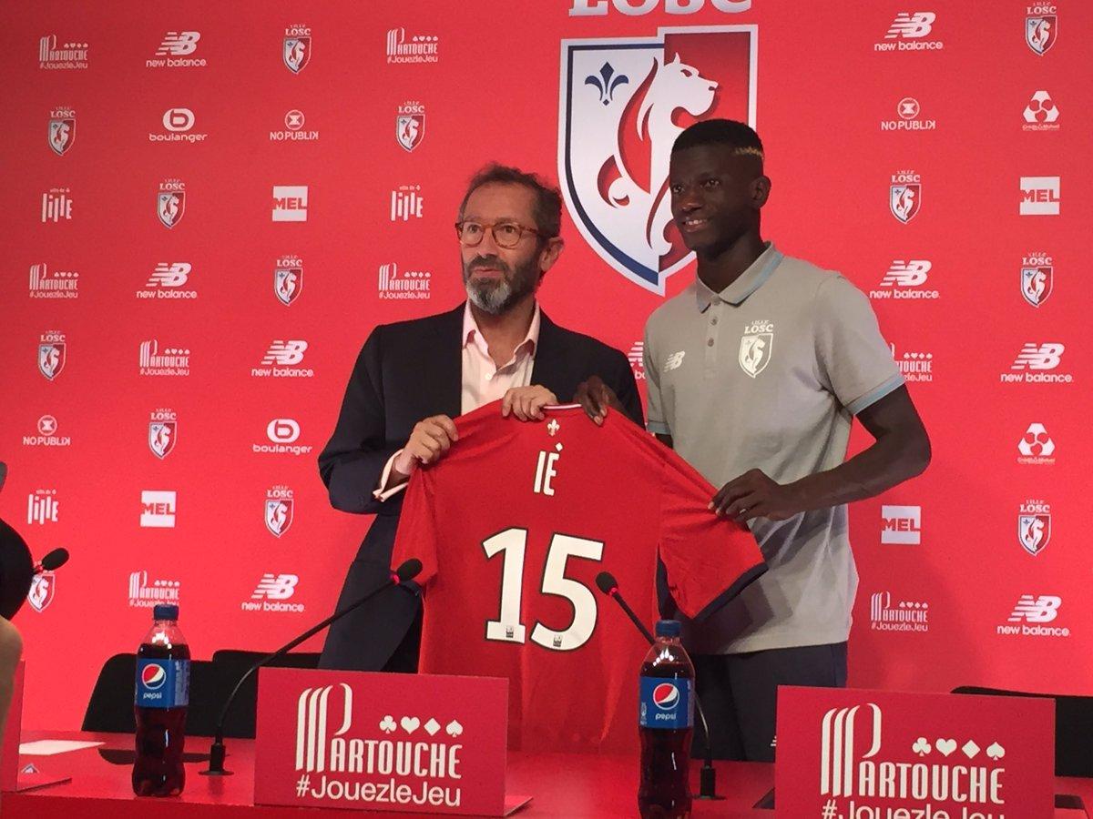 Fodé Ballo-Touré J'avais un peu envie de continuer au PSG, mais le projet de Lille est meilleur