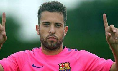 """Jordi Alba """"Verratti ? C'est un joueur très complet. Ce serait un grand renfort"""""""