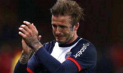 Le PSG ouvre un Hall of Fame avec 20 joueurs, dont David Beckham