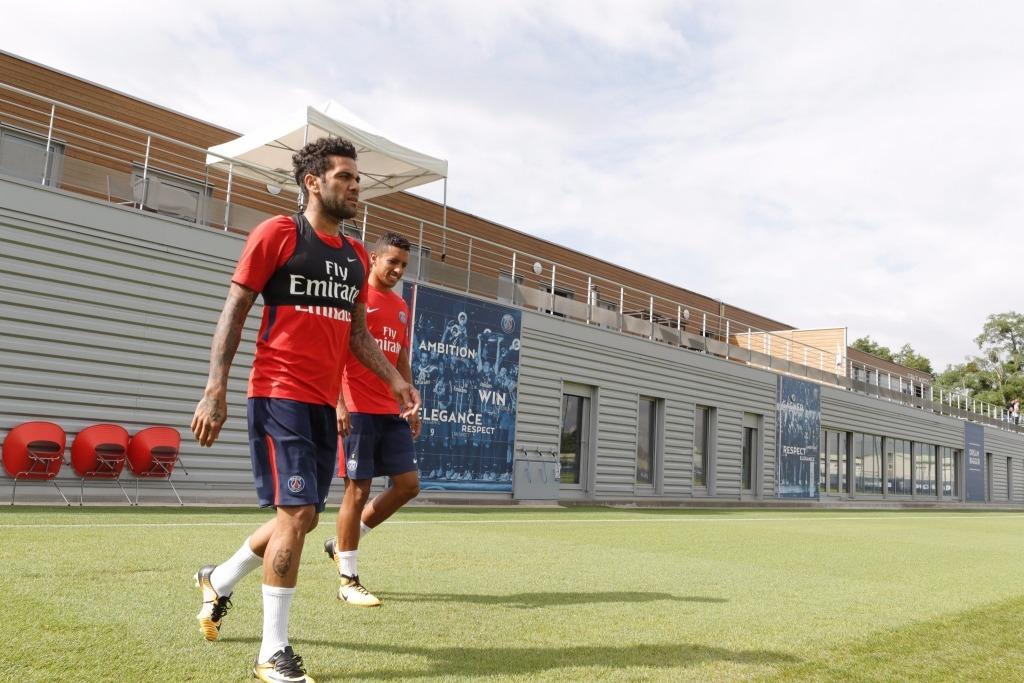 Les images du jour du PSG : La première journée de Dani Alves au club