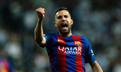 "Mercato - Jordi Alba ""Neymar est heureux ici...on est calme à ce sujet"""