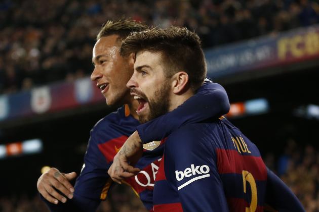 """Mercato - Piqué affirme que """"Neymar reste"""" au FC Barcelone"""
