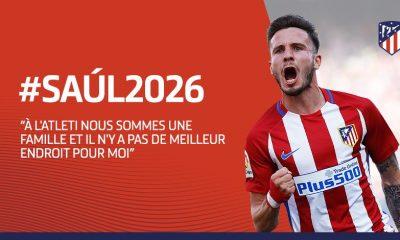 Mercato - Saul Niguez a été annoncé comme une cible du PSG, sans surprise il prolonge à l'Atlético