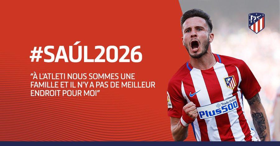 Mercato - Saul Niguez a été annoncé comme une cible du PSG, sans surprise il prolonge à l'Atlético.jpg