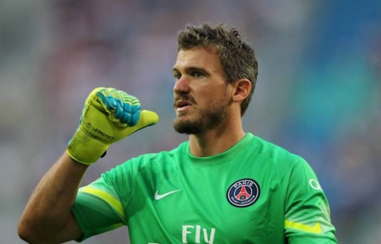 Nicolas Douchez est passé au Camp des Loges et son retour au PSG est évoqué par Le Parisien