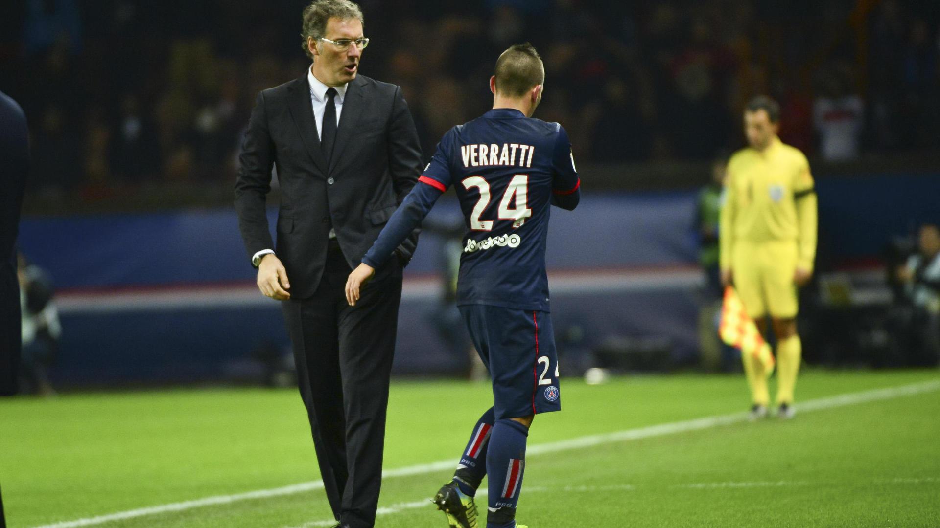 Blanc «Marco est un joueur très important du Paris-Saint-Germain»