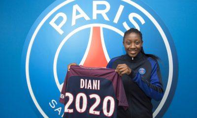 Kadidiatou Diani signe au PSG jusqu'en 2020, c'est officiel !