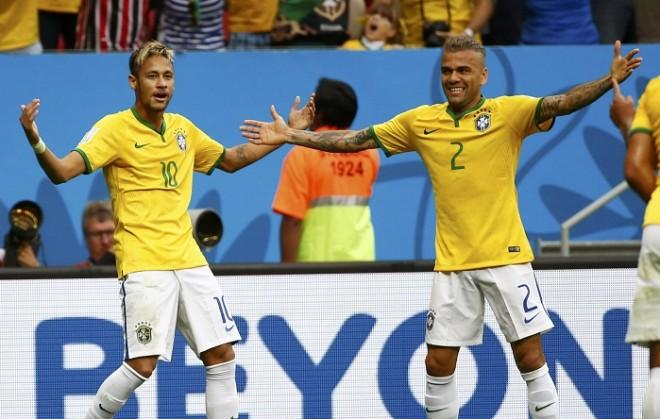 4 joueurs du PSG convoqués avec le Brésil, dont les recrues Neymar et Dani Alves