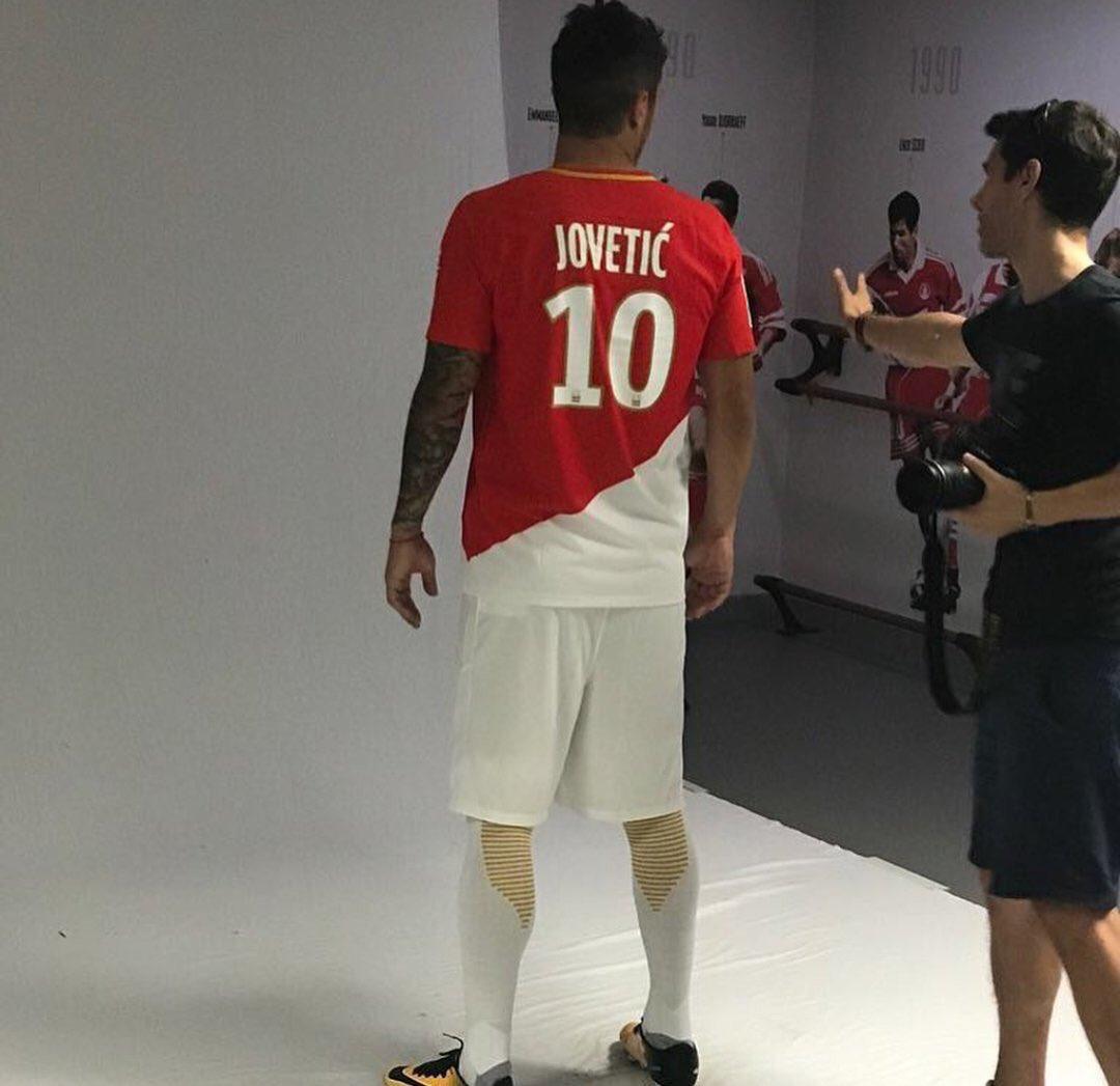 Mercato - Stevan Jovetic va signer à l'AS Monaco avec le numéro 10 de Kylian Mbappé