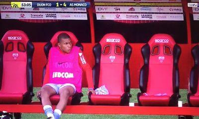 Mercato - Kylian Mbappé est resté sur le banc lors de la victoire de Monaco à Dijon