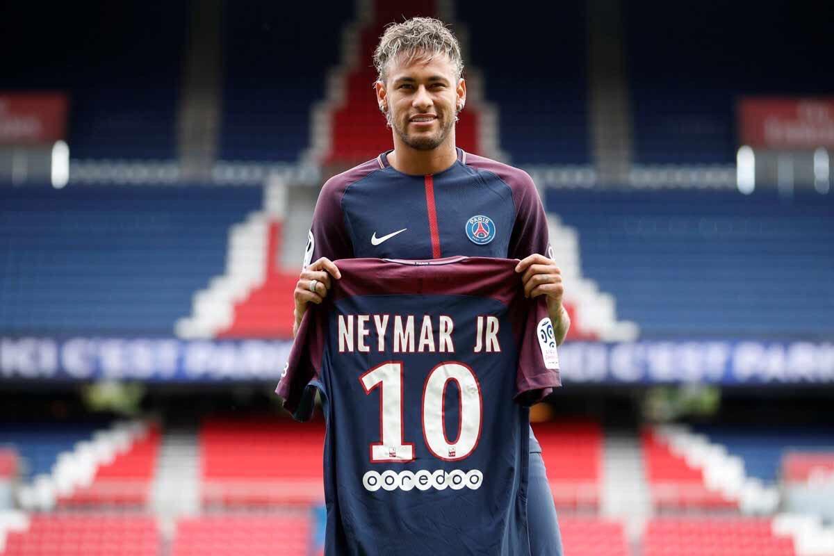 Neymar j'ai fait le bon choix et j'espère écrire une belle page de l'histoire du Club