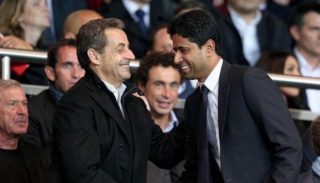 """Nicolas Sarkozy """"Je suis fidèle à mon club depuis cinquante ans"""""""