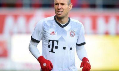 """Robben """"Mbappé est un grand joueur, avec un grand avenir pour lui"""""""