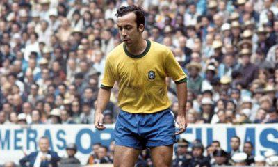 """Tostão """"En général, un joueur sous pression perd ses moyens. C'est le contraire avec Neymar""""."""