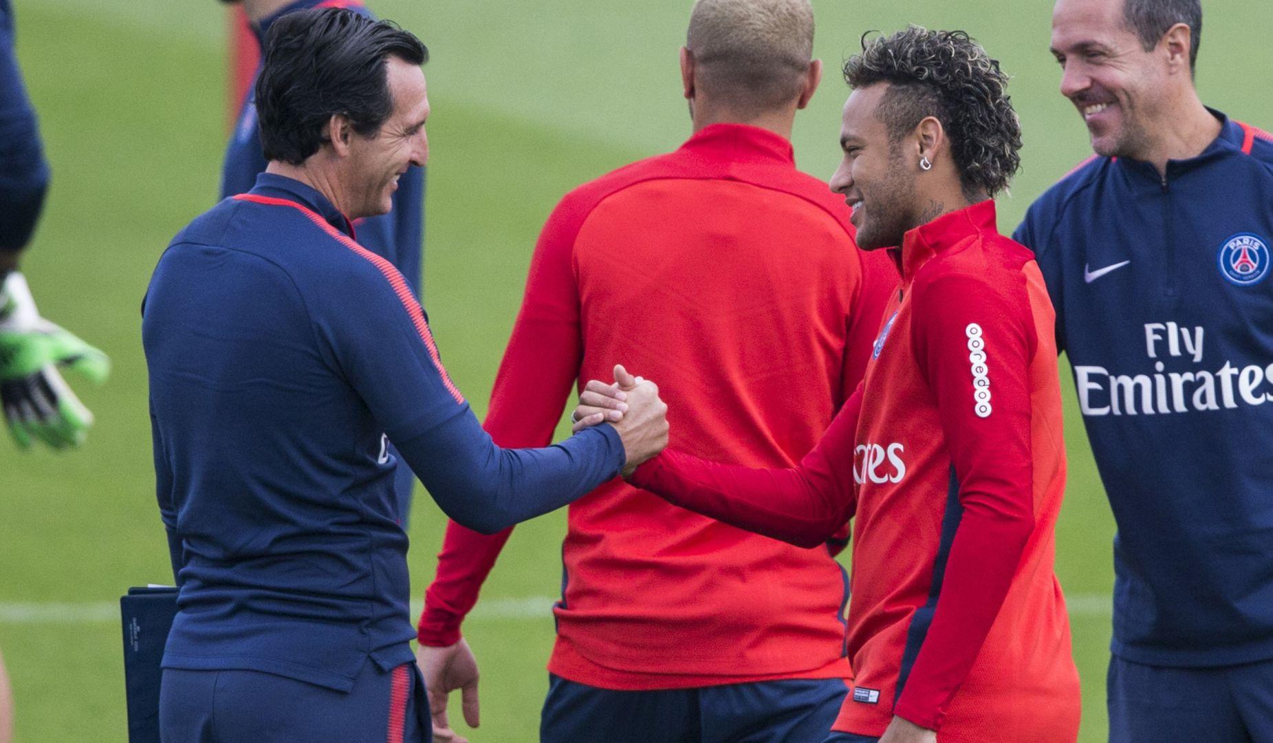 Guingamp/PSG - Emery « l'équipe a joué pendant 90 minutes avec l'esprit conquérant »